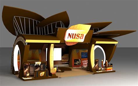 layout gudang garam gudang garam nusa booth on behance