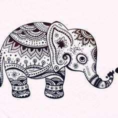 elephant coloring pages aztec designs coloring for adults mandalas and elephants on pinterest