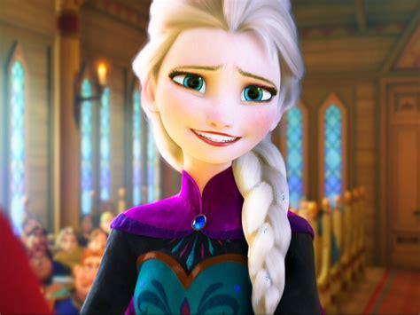 how to frozen elsas coronation hair frozen images elsa hair down coronation dress hd