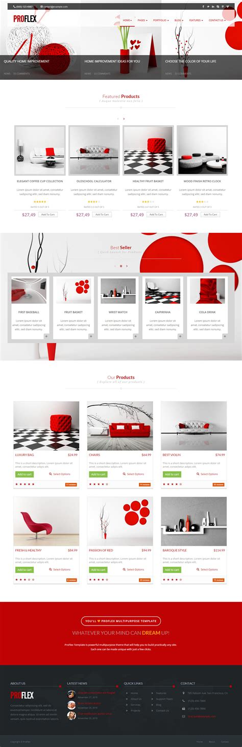 30 Best Ecommerce Html5 Website Templates 2017 Responsive Miracle Html5 Ecommerce Template