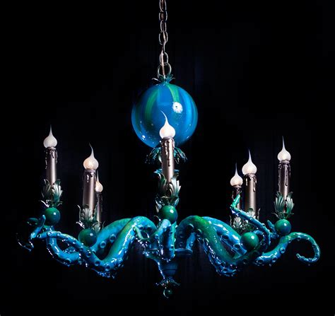 Adam Wallacavage Chandeliers Octopus Chandeliers 21 Images Church Of Halloween