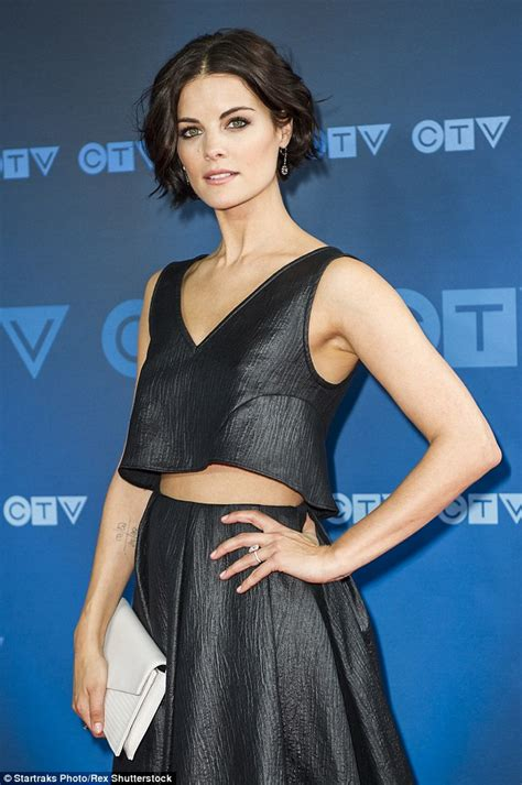 actress with short hair on empire tv show jaimie alexander wows at ctv upfronts in toronto daily