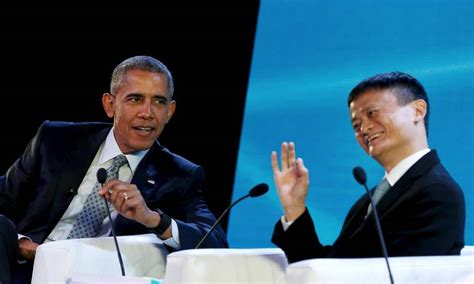 alibaba leadership shunning protocol obama interviews alibaba billionaire ma