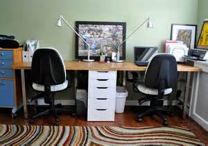 2 Person Computer Desk Ikea Home Office Home Office Ideas For Two