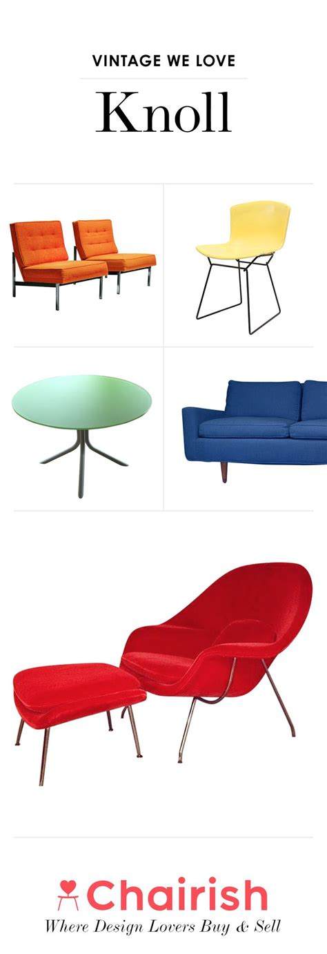 17 best images about classic knoll furniture on