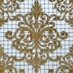 mosaic tile designs crystal glass tile gold mosaic collages design interior