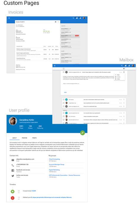 altair admin material design uikit template admin templates