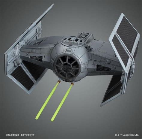 Bandai Starwars Tie Advanved X 1 172 Scale bandai model kit 1 72 tie advanced x1 wars gundammodelkits