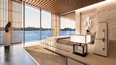 yacht bedroom motor yacht symmetry concept vip bedroom suite luxury