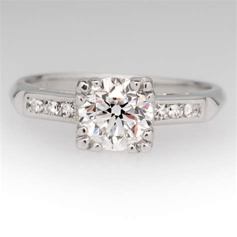 Antique Engagement Rings by Platinum Antique Engagement Rings Wedding Promise