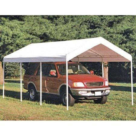 10 Ft X 20 Ft Portable Car Canopy - shop for snail 10 x 20 ft outdoor enclosed domain carports