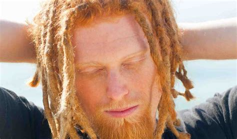 ginger with dreads ginger david putney