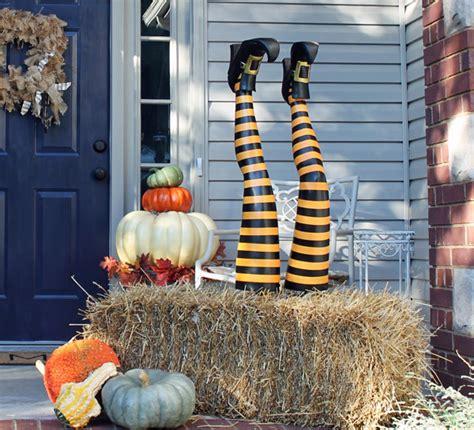 witch leg halloween decorations hometalk