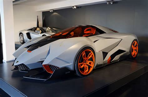 New Lamborghini Egoista Lamborghini Egoista Goes On Permanent Display At