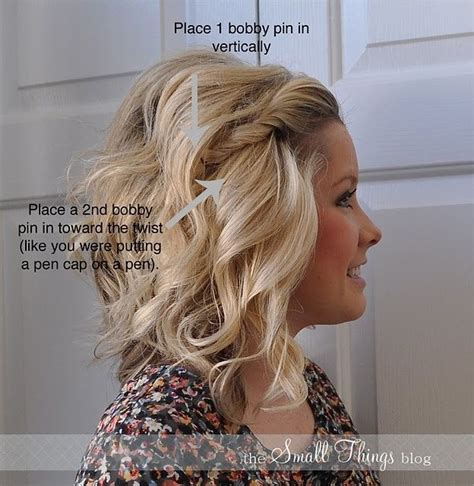 hair styles pin interest the two bobby pin front twist my hair twists and wear