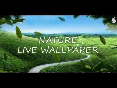 nature  wallpaper youtube