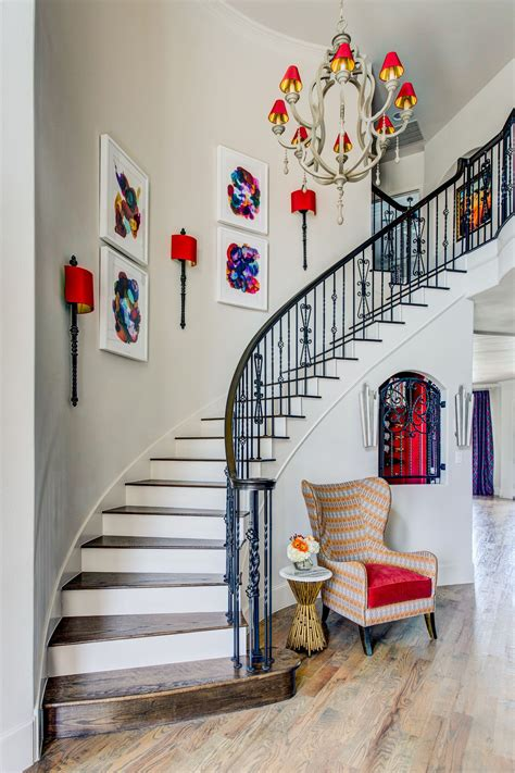 stylish staircase decorating ideas stairway