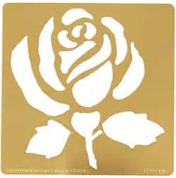 Rose Templates Free Rose Stencil