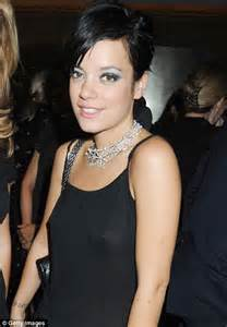 Lily Allen dazzles in diamonds at Harper's Bazaar awards  then spends a minute at second party