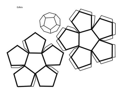figuras geometricas la esfera para armar forma de armar