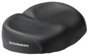bicycle seat comfort no pressure soft wide large big