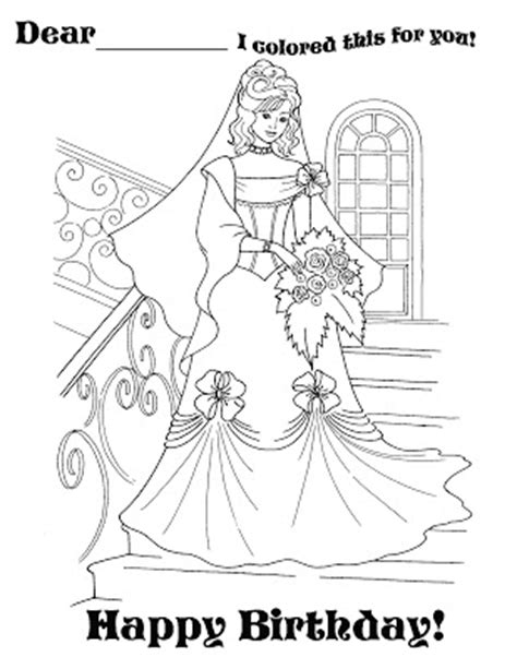 princess coloring pages birthday barbie rapunzel coloring pages print colorings net