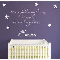 Wandtattoo Kinderzimmer Personalisiert by Wandtattoo F 252 R Kinder Mit Namen Quot Sterne Fallen Nicht Vom