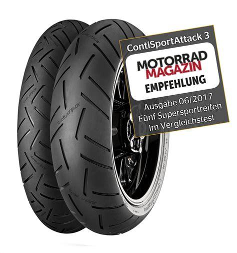 Motorrad Magazine österreich by Contisportattack 3 Testsieg Bei Motorrad Magazin