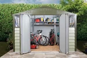 cabane jardin metal titan 108 garden shed metal sheds from trimetals