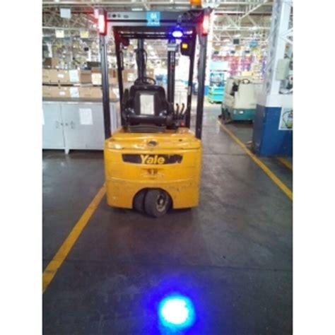 blue forklift safety light high quality 9 110v blue safety work light 6w forklift