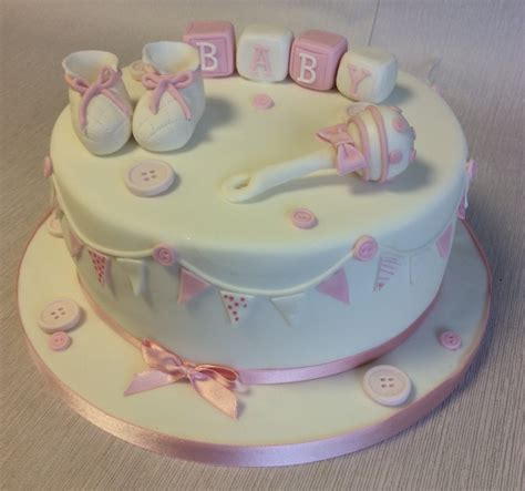 Traditional Baby Shower by Traditional Baby Shower Cake For A Baby