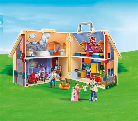play mobil playmobil take along modern dollhouse