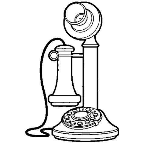 printable coloring pages of alexander graham bell coloring