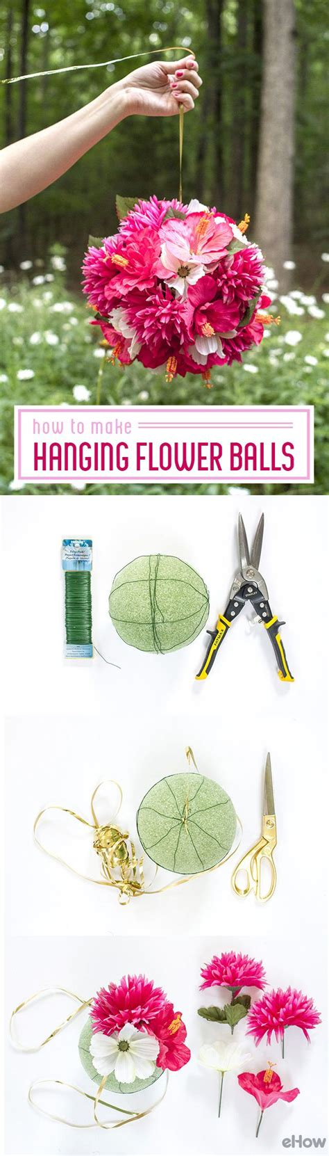 Ball Of Light How To Make Hanging Flower Balls Flower Ball Banquet