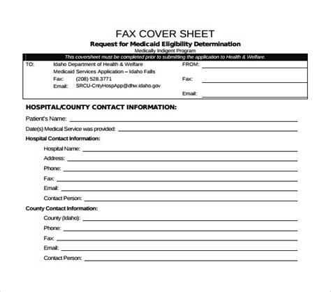 Medical Fax Cover Sheet 14 Documents In Pdf Word | medical fax cover sheet 14 documents in pdf word