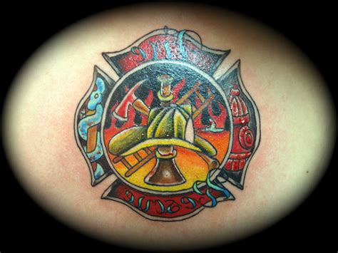 maltese cross tattoos firefighter firefighter maltese cross tattoos designs cool tattoos