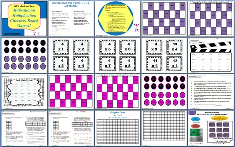 printable directions for checkers out of the box reading and math motivational