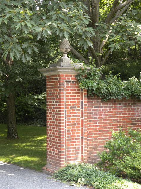 Boston Area Estate Architecture By Johnson Craven Decorative Brick Walls Garden