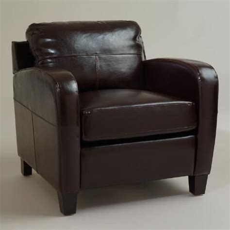 Reading Nook Chair Espresso Bi Cast Leather Chair Espresso Walnut