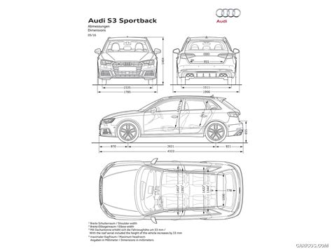 Audi S3 Dimensions by 2017 Audi S3 Sportback Dimensions Hd Wallpaper 21