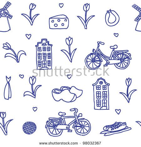 Holland Pattern Stock   holland seamless pattern stock photos images pictures