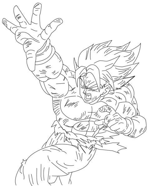 imagenes de goku haciendo el kamehameha para dibujar kamehameha line art by gokusuke on deviantart