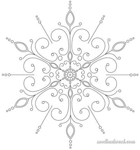 black and white fancy pattern evolution of an embroidery pattern needlenthread com