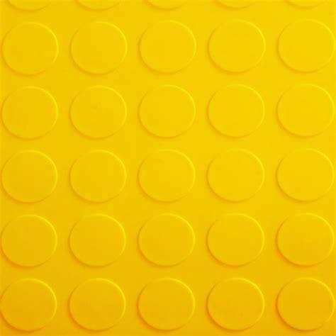 garage floor tile coin yellow coin