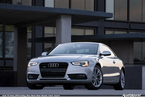 audi a5 wins 2014 kelley blue book best resale value award audiworld forums