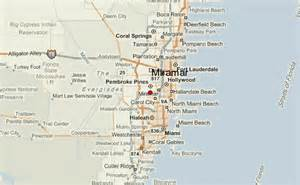 Miramar Florida Map by Miramar Location Guide