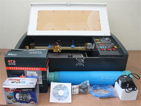 Mini 4 Baru jual mesin laser cutting acrylic mini bengkel print indonesia