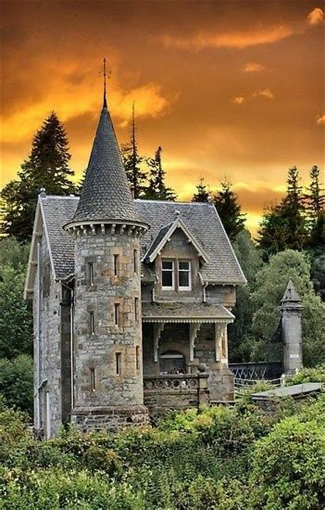 castle homes castle tower home scotland for a mystical mural
