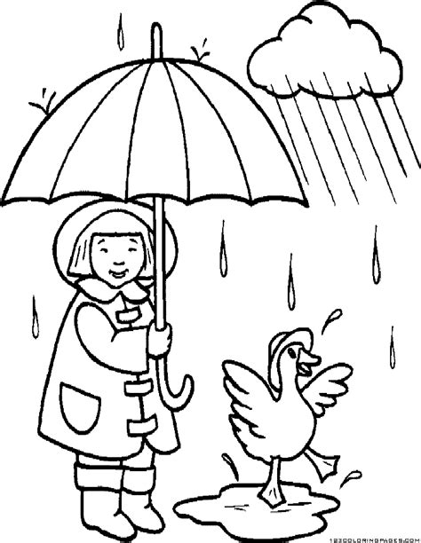 coloring pages rain az coloring pages rain monsoon coloring pages