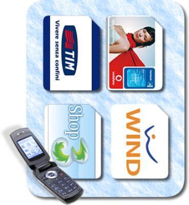 operatori italiani telefonia mobile italia tim e vodafone giu crescono wind e tre io chiamo